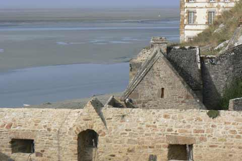 Le Mont Saint Michel bay la Manche  Normandy