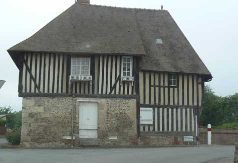 Saint Philbert des Champs house Normandy