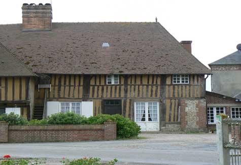 Saint Philbert des Champs house Normandy