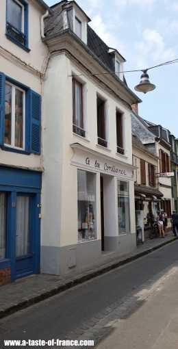 St Valery sur Somme street