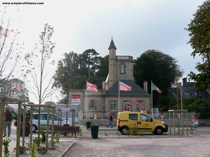 Sainte Mere Eglise  village in Normandy