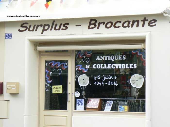 Sainte Mere Englise  village in Normandy