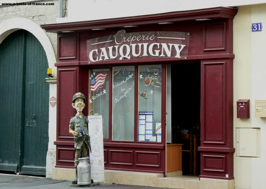 The town of Sainte Mere Eglise