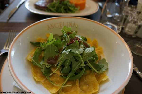 Salad in Paris restaurant France picture 1