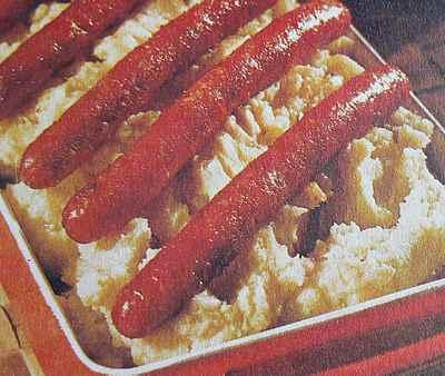 sausage with celeriac picture