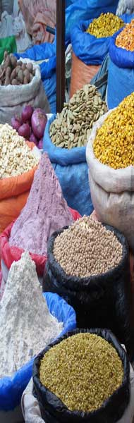 Nice daily market spice stall picture