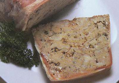 Spice pate with peppercorns picture