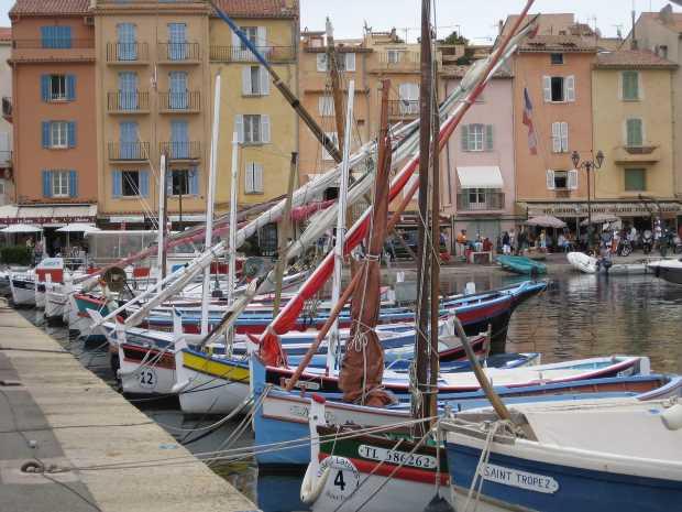 st tropez harbour  picture