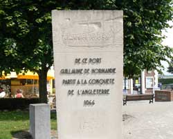 st-valery-sur-somme-sign for 1066 picture