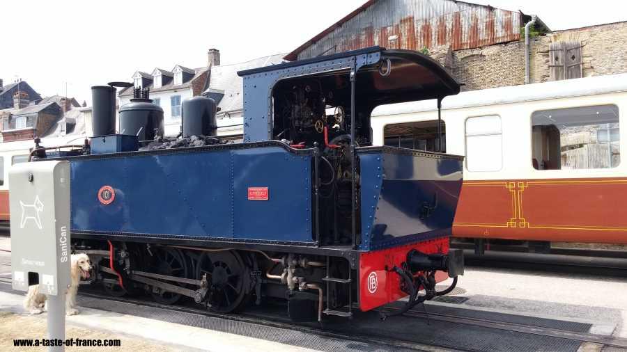 Steam train Froissy