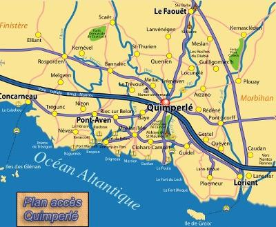We are situated in Quimperlé