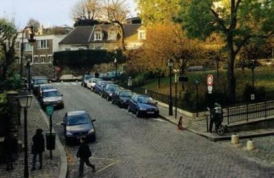 The top of Montmartre Paris