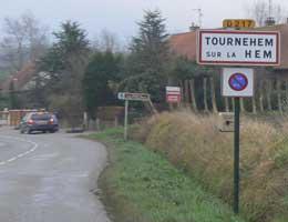 Tournehem sur La Hem  sign picture