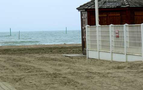 Trouville sur Mer beach Calvados Normandy