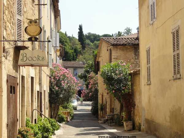 The village of Valbonne South of France picture