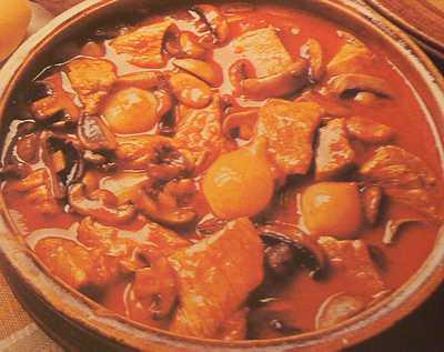 veal marengo picture