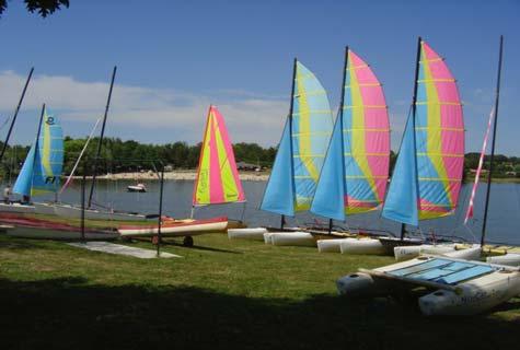 Videix lake France