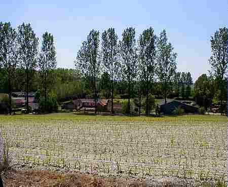 Caumont village France