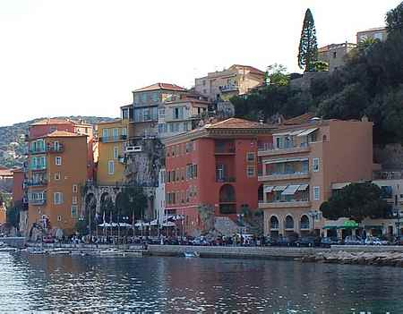 villefranche seafront  picture