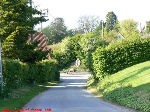 The village of Wamin