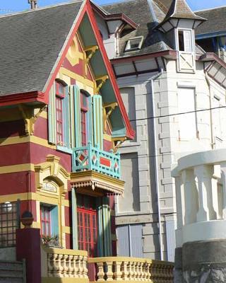 Wimereux painted villa