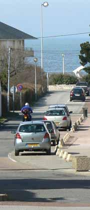Wissant beach road