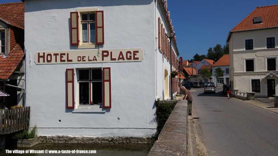 Wissant village
