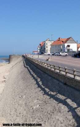Ambleteuse beach road