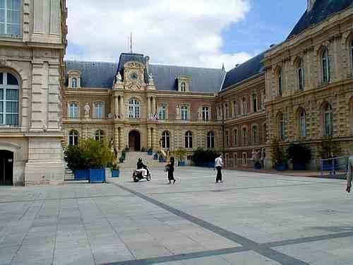 Amiens France city centre