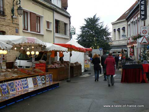 Ardres Christmas market picture