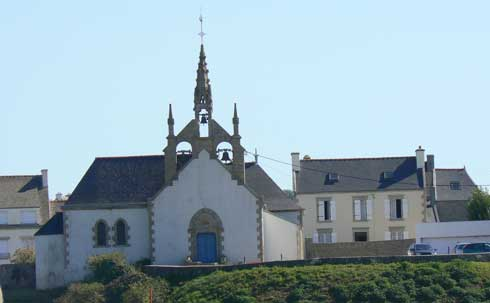 Audierne church Brittany