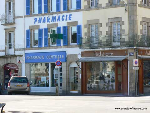 Audierne shop Brittany
