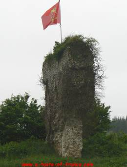 Blangy le Chateau ruins