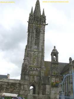 Bodilis church picture