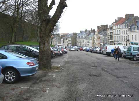 Boulogne sur mer Car park