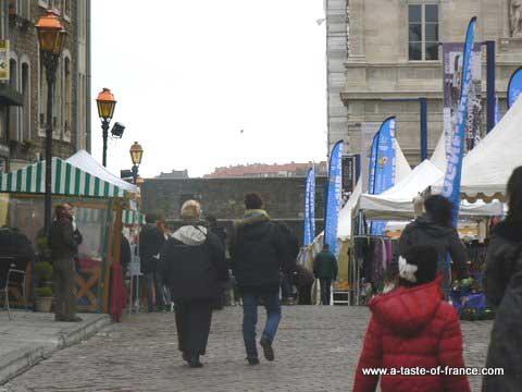 Boulogne Christmas market picture