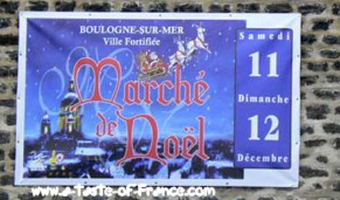 Boulogne Christmas market