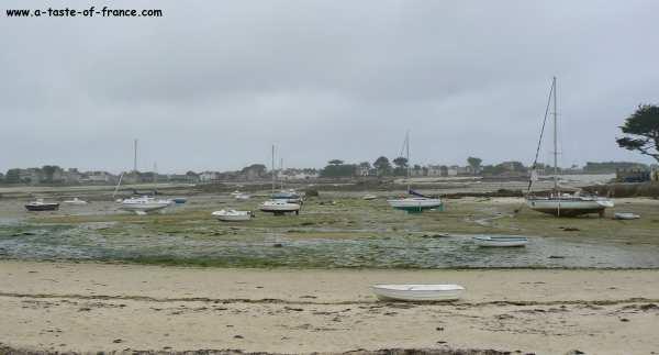 Brignogan Plages estuary Brittany