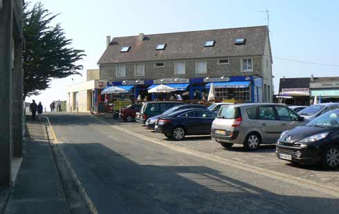 Carolles Plage shop Normandy
