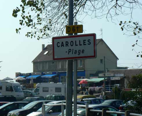 Carolles Plage Normandy
