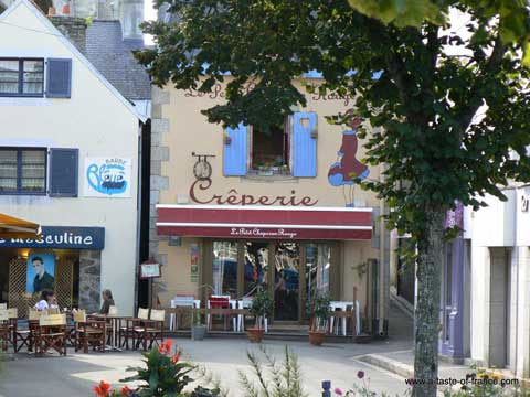 Concarneau creperie Brittany