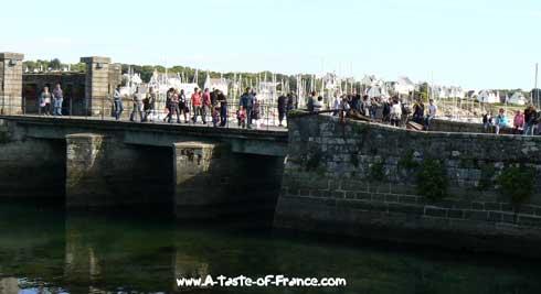 Concarneau bridge Brittany