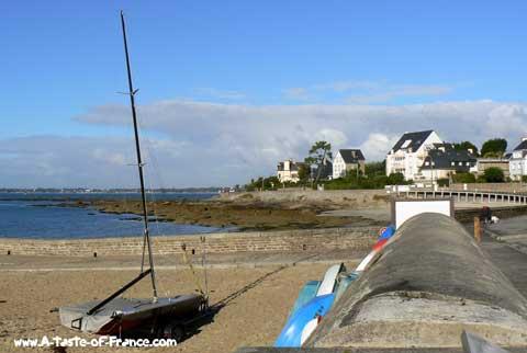 Concarneau beach Brittany