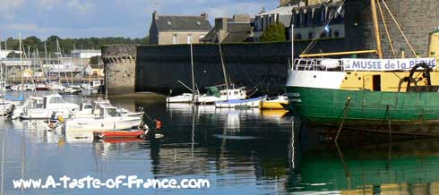 Concarneau boat museum Brittany
