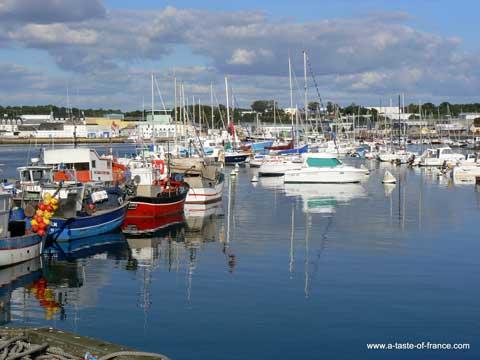 Concarneau harbour Brittany
