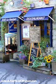 Concarneau Restaurant in the old town