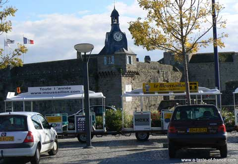 Concarneau tourist train Brittany