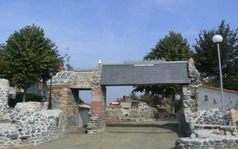 Courtils church Manche Normandy