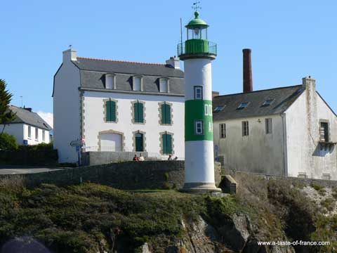 Doelan lighthouse Brittany