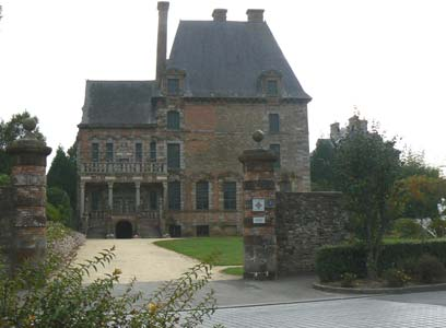Ducey chateau Montgommery Manche Normandy